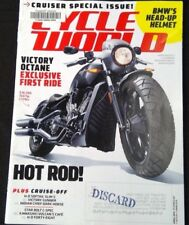 Cycle World magazine April 2016 Cruiser Special Issue BMW's Head-up Helmet
