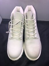 "Timberland Junior 6"" premium white boots size 2 # A1M5a (c34)"