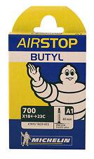 Michelin Airstop Butyl Innertube Inner Tube 700x18 23 Sv40mm