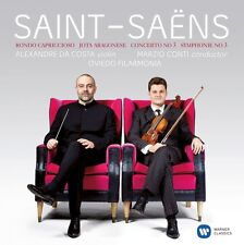 Saint-Saens / Alexandre Da Costa - VLN Con 3 & Sym 3 [New CD]