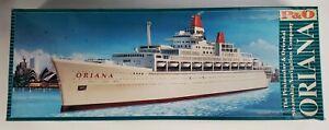 Modelcraft Oriana P&O Steamship Navagation Company 1:500 Scale Model Kit