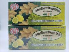 5 pack Instant Ginger lemon Honeyed Drink 36-count Bags. free and fast delivery.