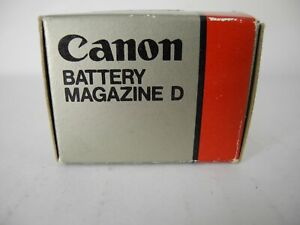 CANON BATTERY MAGAZINE D PERFECT BOXED NOS UNUSED