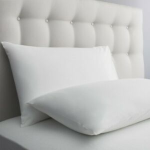 Luxury Hollowfibre Housewife  Standard Pillow Bedding Polycotton Size Pack 2 4 8