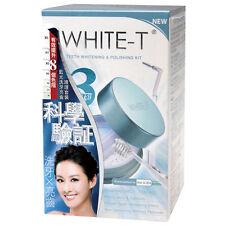 WHITE-T Teeth Whitening & Polishing Kit Formulated in USA Dental White Oral Care