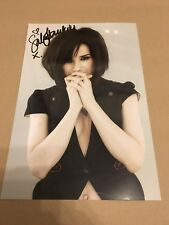 SALLY HAWKINS  -  SEXY  POSE   -  SIGNED  COL  PHOTO  11X8 inch -   UACC