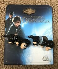 Fantastic Beasts The Crimes Of Grindelwald Niffler Faux Tunnel Earrings
