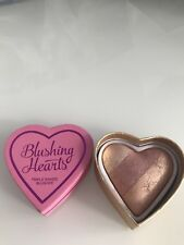 I Love Makeup Blushing Hearts Peachy Keen Heart Neu