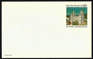 #UX83 10c Salt Lake Temple, Mint ANY 4=