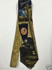 EAGLES Ali New York Yankees Baseball da Uomo Cravatta Di Seta 6U