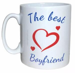 The Best Boyfriend Mug. Mugs For Valentines, Christmas Gifts For Boyfriends
