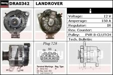 Alternator fits LAND ROVER DISCOVERY Mk3 2.7D 04 to 09 276DT Remy LR008861