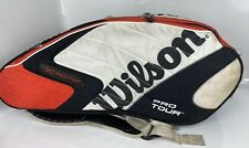 Wilson Pro Tour (K) Factor Thermo & Moisture Guard Tennis 6 Racquets Bag
