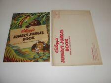 Kellogg's Jumbly Jungle Book 1948 Edition Premium W/ Original VG Envelope VF/NM