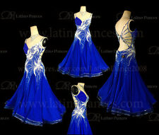 Ballroom Competition Smooth Dance Tailored Dress With High Quality stones ST210A