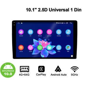JOYING Android 10.0  Radio 10.1 Inch 2.5D 1280*800P Single Din In Dash Head Unit