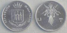 San Marino 1 Lira 1983 p145 unz