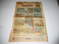 AUG 1 1937 Sunday Comics Newspaper Page - Los Angeles Times TARZAN BUCK ROGERS