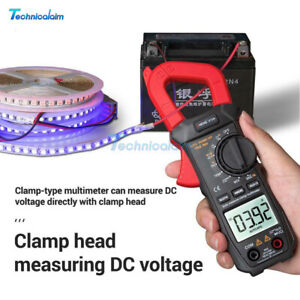Digital Multimeter ANENG ST209 Clamp AC/DC Voltage LCD Current Tester Meter