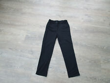 ***AGE 6-7 YEARS GIRLS BLACK SCHOOL TROUSERS, STRAIGHT LEG, STRETCHY, TU (4)***