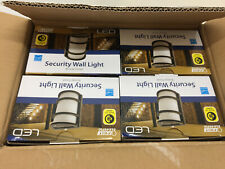 """New listing 4-Pk Feit Electric 11.5W Bronze Led 6"""" Half Moon Security Wall Pack Light 73702"""