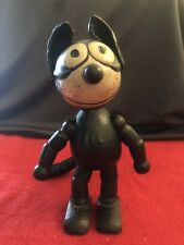 "FELIX THE CAT 1920's All Original 8"" Wooden Figurine by Sullivan - AMAZING!!!"