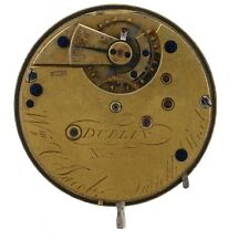 WM C JACOB  SUFFOLK STREET DUBLIN SWISS LEVER POCKET WATCH SPARES Z281