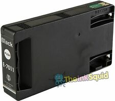 1 Black T7011 non-OEM Ink Cartridge For Epson Pro WP-4545DTWF WP-4595DNF