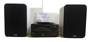 Teufel 42 Kombo CD-Receiver + Lautsprecher in Weiss