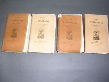 Michelet le seizième siècle Ed. Lemerre 1887 papier vergé et couverture velin