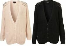 TopShop Acrylic Long Sleeve V Neck Women's Jumpers & Cardigans