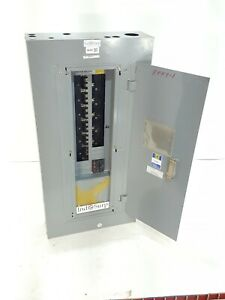 Square D NEHB 225 Amp Panel With Breakers! 480Y/277 Volt 3 Phase 4 Wire