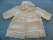 Vintage Antique Baby Coat tagged Golden Sun