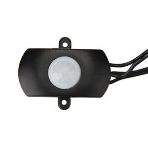 4x SUPERNIGHT® PIR Motion Sensor Switch Infrared Dimmer 5V-24V for LED Strip