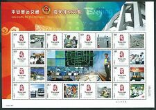 China 2008 Olympic Smiling Traffic Police Special S/S A 北京交警 奥運