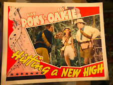Hitting A new High 1937 RKO musical lobby card Lily Pons Jack Oakie