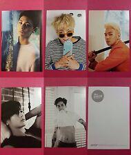 LOT of 5 NU'EST Official PHOTOCARD Postcard 1st Album RE:BIRTH NUEST MINHYUN JR