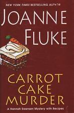 Carrot Cake Murder (Hannah Swensen Mysteries)-ExLibrary