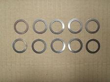 Shims Shim washer x10 22mm 30mm 0.2mm 22 x 30 x 0.2 gearbox crankshaft swing arm