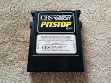 Pitstop CBS COLECOVISION . rare