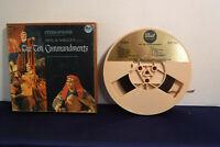 Elmer Bernstein, The Ten Commandments, DLP 25054-D,4 track 3.75 IPS Reel To Reel