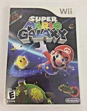 Nintendo Wii 2007 Super Mario Galaxy Video Game Complete in Box