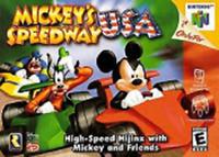 Mickey's Speedway USA Nintendo 64 N64 Authentic OEM Video Game Cart Disney Kids
