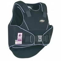 Champion Flexair Childs Body Protector Black/Blue Regular Back - Horse Riding