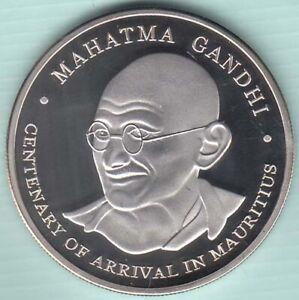 Mauritius 100 RS Centenary of Arrival in Mautitius Mahatma Gandhi