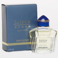 Jaipur Pour Homme Men Boucheron EDT Splash Miniature 0.15 oz / 4.5 ml New in Box