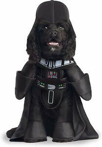 Star Wars Darth Vader Pet Dog Costume Medium M Walker Arms Hat Funny LICENSED
