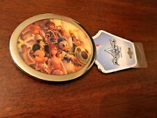 "LICENSED NWT DISNEY KINGDOM HEARTS METAL Belt Buckle UNISEX NEW NWT 4"" X 3.25"""