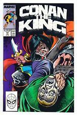 CONAN THE KING #47 (7/88)--VF+ / Tony DeZuniga-art; Fraja Bator-cover^