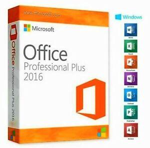 Microsoft©Office 2016 Professional Plus License Key 32/64 Bit Licence Key